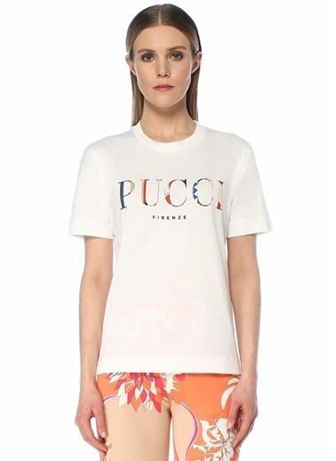 Emilio Pucci Tişört Beyaz